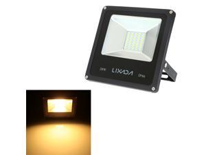 LIXADA Real Power 20W High Power Factor Greater than or Equal to 0.95 IP66 Water Resistant LED Flood Light 85-265V for Gardern Outdoor Illumination