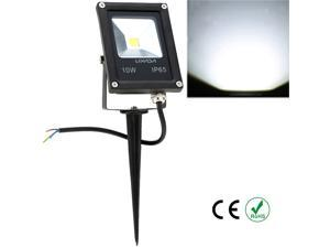 Real Power 10W 12V DC IP65 Ultrathin LED Flood Light with Stake Outdoor Garden Tunnel Square Yard Landscape Lighting CE RoHs