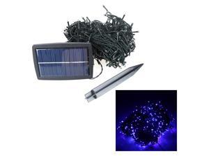 500 LED Solar String Lights Christmas Wedding Party Garden Tree Decoration Fairy Blue