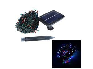 RGB 400 LED Solar String Lights Christmas Wedding Party Garden Tree Decoration Fairy