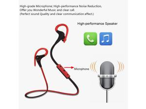 In-ear Wireless Stereo Bluetooth Headset with Microphone for iPhone 6 Plus 6 5S LG Samsung