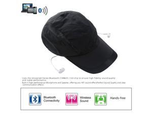 Stylish Bluetooth Music Sun Hat Headphone Popular Bluetooth 4.0 + EDR Stereo Music Hat