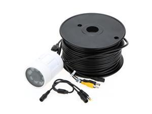 20M Cable Underwater Fishing 550TVL Camera 8Pcs Infrared LEDs Nightvision Waterproof Fish Finder