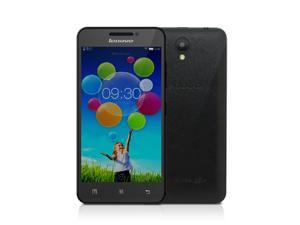 "Lenovo A3600 4G TDD-LTE FDD-LTE 3G WCDMA Smartphone Android 4.4 OS MTK6582 Mali-400 Quad Core 4.5"" IPS Screen 512MB RAM 4GB ROM 0.3MP 2MP Dual Cameras"