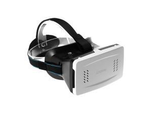 """Andoer Portable Plastic Version 3D VR Glasses Virtual Reality DIY 3D Video VR Glasses with Magnetic Switch Hand Belt for All 3.5 ~6"""" Smart Phones"""