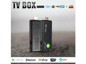 MK809 IV Android 4.4 TV Dongle RK3128 Quad-Core 1G / 8G Full HD 1080P Mini PC Kodi / XBMC / Miracast / DLNA H.265 WiFi Smart Media Player