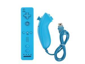 Wii Remote+Nunchuk Controller for Nintendo Wii + Case