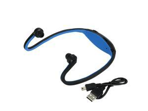 Compact Digital Music Player Dual-channel Sports MP3 8GB with FM Function Headphone Wireless Plug-in Card Headset