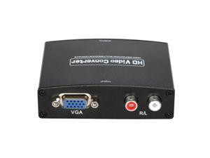ANQ-M601 VGA+R/L Audio to HDMI Converter 1080Pp 3D Audio Video Converter Adapter for HDTV PC US Plug
