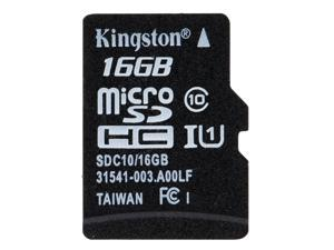 Genuine Original Kingston Class 10  16GB MicroSDHC TF Flash Memory Card 48MB/s Maximal Speed