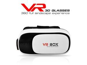 Private Virtual Reality Glasses Headset 3D VR Glasses VR Box DIY 3D Movie Game with Head-Mount Headband