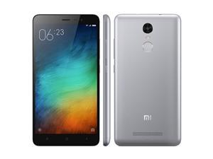 "Original Xiaomi Redmi Note 3 5.5"" FHD 4G Metal Body Fingerprint ID Mobile Phone MTK Helio X10 64Bit Octa Core2GB RAM 16GB ROM 13MP Camera 4000mAh"