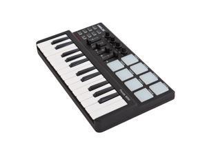 Worlde Panda mini Portable Mini 25-Key USB Keyboard and Drum Pad MIDI Controller
