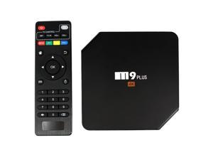 M9 Plus Smart Android TV Box Android 5.1.1 Amlogic S905 Quad Core 2GB / 16GB 4K*2K 60fps HDMI Mini PC 2.4GHz Dual WiFi Bluetooth 4.0 DLNA Airplay Miracast LED Display Media Player