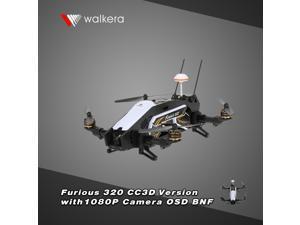 Original Walkera Furious 320 CC3D Version FPV Racing Drone BNF RC Quadcopter with OSD 1080P HD Camera