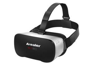 Arealer VR SKY All-in-one Machine Virtual Reality Headset 3D Glasses 1080p 5.5Inch TFT Display Screen  Immersive WiFi Bluetooth 4.0 w /USB port TF Card VR Headset