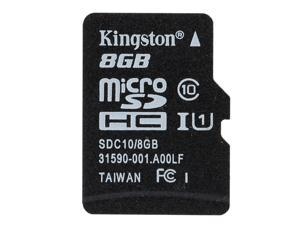 Genuine Original Kingston Class 10 8GB  MicroSDHC TF Flash Memory Card 48MB/s Maximal Speed