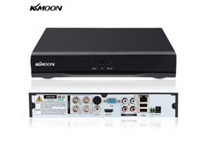 KKmoon® 4CH Channel Full 1080N/720P AHD DVR HVR NVR HDMI P2P Cloud Network Onvif Digital Video Recorder   PTZ for HD 2000TVL CCTV Security Camera Surveillance System