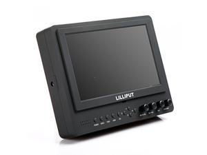 "Lilliput 7"" 665/O/P LCD Video Camera Monitor with HDMI YPbPr"
