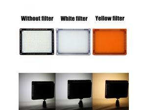 260 LED Video Light Lamp Panel 18W 2100LM Dimmable for Canon Nikon Pentax DSLR Camera Video Camcorder