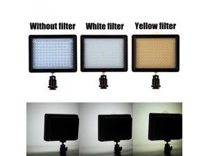 126 LED Video Light Lamp Panel 10W 960LM Dimmable for Canon Nikon Pentax DSLR Camera Video Camcorder