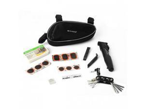 Sahoo Cycling Bicycle Bike Repair Tools Kit Set with Pump Box Bag Black