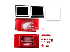 Red SHELL REPLACEMENT CASE HOUSING FOR NDSL DS LITE