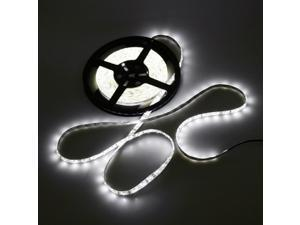 White 5M Waterproof Epoxy 3528 300 SMD LED Strip Light