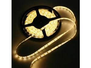 Warm White 5M Waterproof Epoxy 3528 300 SMD LED Strip Light