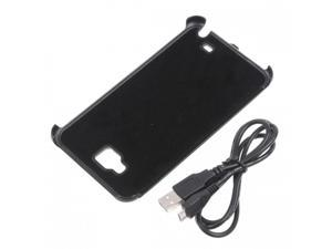 Black 3200MAH Portable Power Pack Case Cover External Battery Charger for Samsung Galaxy Note i9220