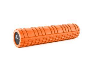 """ProSource Sports Medicine Foam Roller 24"""" x 6"""" with Grid for Deep-Tissue Massage and Trigger-Point Muscle Therapy (Available in 3 Color Options)"""