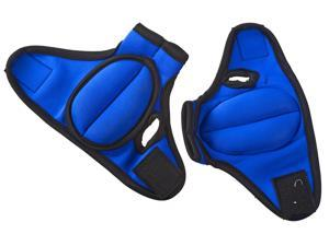 ProSource Weighted Gloves, Pair of Heavy Duty 2 lb. Neoprene for Sculpting and Aerobics