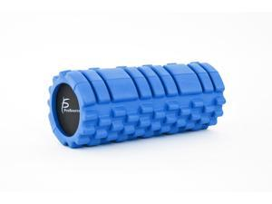 "ProSource Sports Medicine Foam Roller 13"" x 6"" with Grid for Deep-Tissue Massage and Trigger-Point Muscle Therapy"