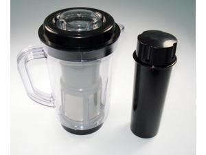 Juicer Attachment Pitcher Pusher Compatible with Original Magic Bullet Blender for Smoothies or Pancake Batter