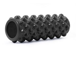 """ProSource Bullet Sports Medicine Foam Roller 14""""x 5"""", Extra Firm for Deep Tissue Massage and Releasing Trigger Points"""