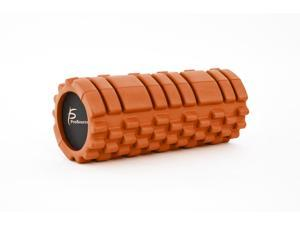 """ProSource Sports Medicine Foam Roller 13"""" x 6"""" with Grid for Deep-Tissue Massage and Trigger-Point Muscle Therapy"""