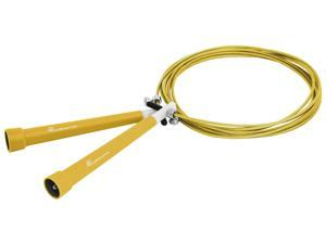 ProSource Speed Jump Rope 10' Adjustable Length, Super Fast Turning for Crossfit, Cardio, Boxing