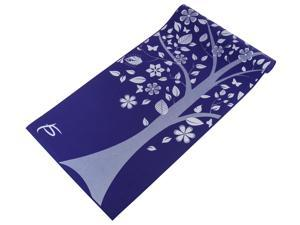 "ProSource Yoga Mats 3/16"" (5mm) Thick for Comfort & Stability with Exclusive Printed Designs"