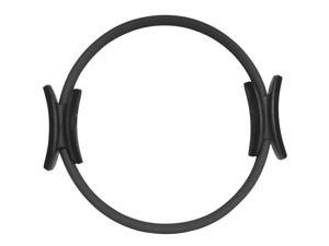 "ProSource Pilates Resistance Ring 14"" Dual Grip Handles for Toning and Fitness"