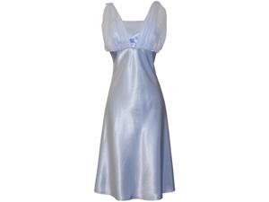 Satin Chiffon Prom Dress Holiday Formal Gown Bridesmaid Crystals Knee-Length