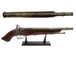 """21 1/4"""" Decorative Gun"""