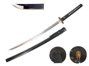 41 inch Musha  Hand Forged Samurai Sword Chidori Series, Black