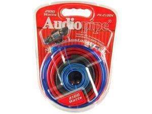 Audiopipe Pk2100x 2100w 4 Gauge Amplifier Amp Wiring Kit 2100 Watt Pk-2100x