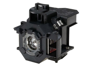 Projector Lamp for Epson PowerLite 410W with Housing, Original Philips / Osram Bulb Inside