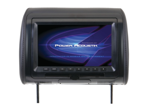 Power Acoustik Hdvd-91Cc 9In Univ Hdrst Mon W/Dvd