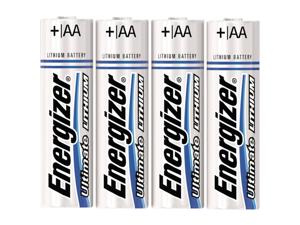 Energizer E2 Lithium L91bp4 Aa 4Pk Lithium Batteries