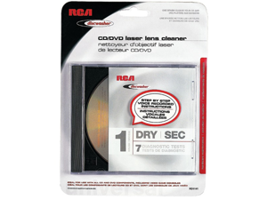 Discwasher Rd1141 Cd/dvd Laser Lens Cleaners (1-brush&#59; Dry)