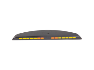 CRIMESTOPPER CA-5014 Rear-Parking-Assist System LED Display with Rear Mount for Plastic Bumpers