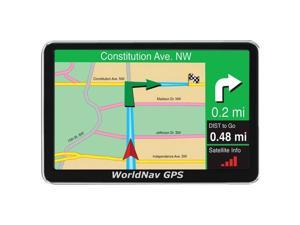 "TELETYPE 430024 WorldNav 4300 Premium 4.3"" GPS Device"