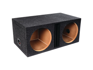 """ATREND-BBOX E12DV B BOX SERIES DUAL VENTED ENCLOSURE WITH DIVIDED CHAMBERS (12"""")"""